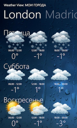 Музыка на Nokia Lumia 920.