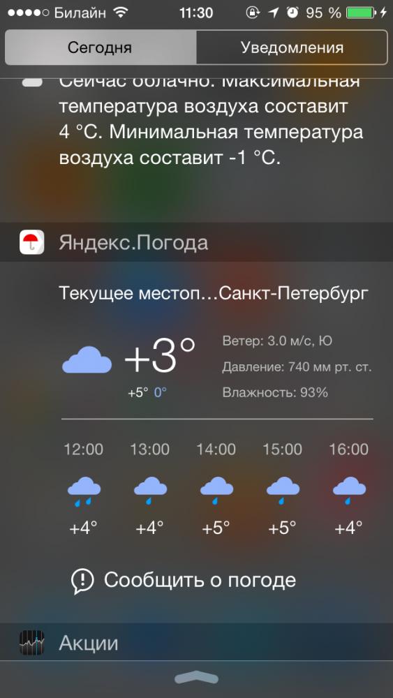 Гаджеты яндекс погода на компьютер