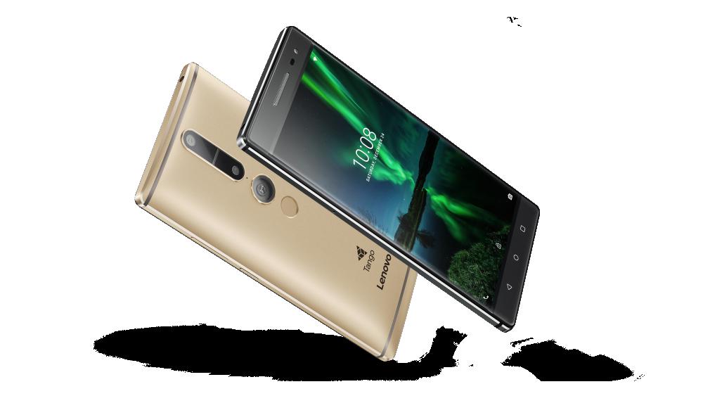 Lenovo выпускает фаблет стехнологией Tango