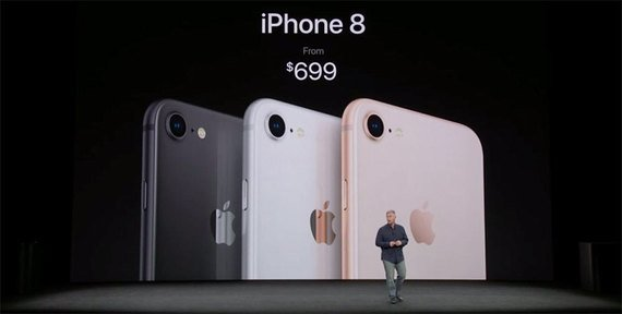 Apple iPhone 8.