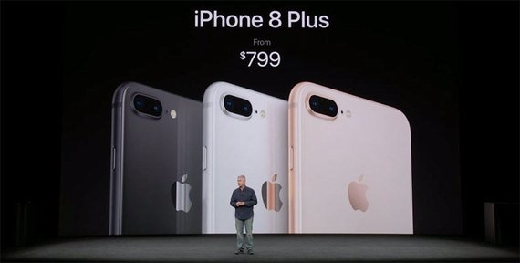 Apple iPhone 8 Plus.
