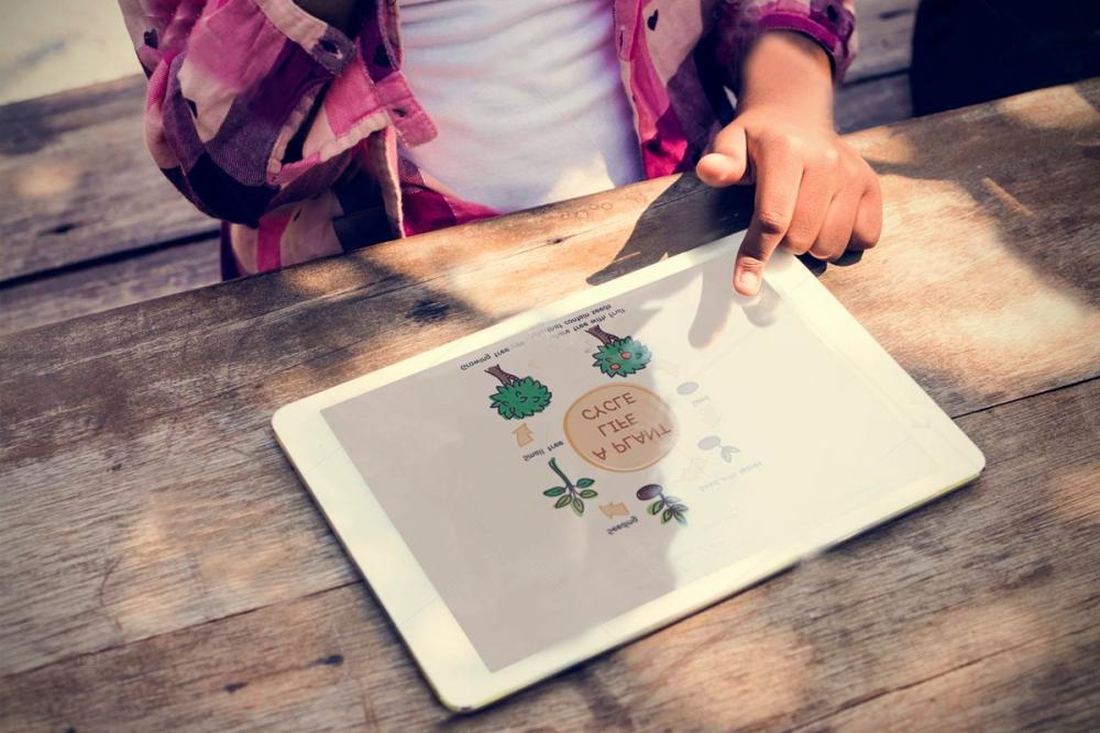 Смартфон-ноутбук.