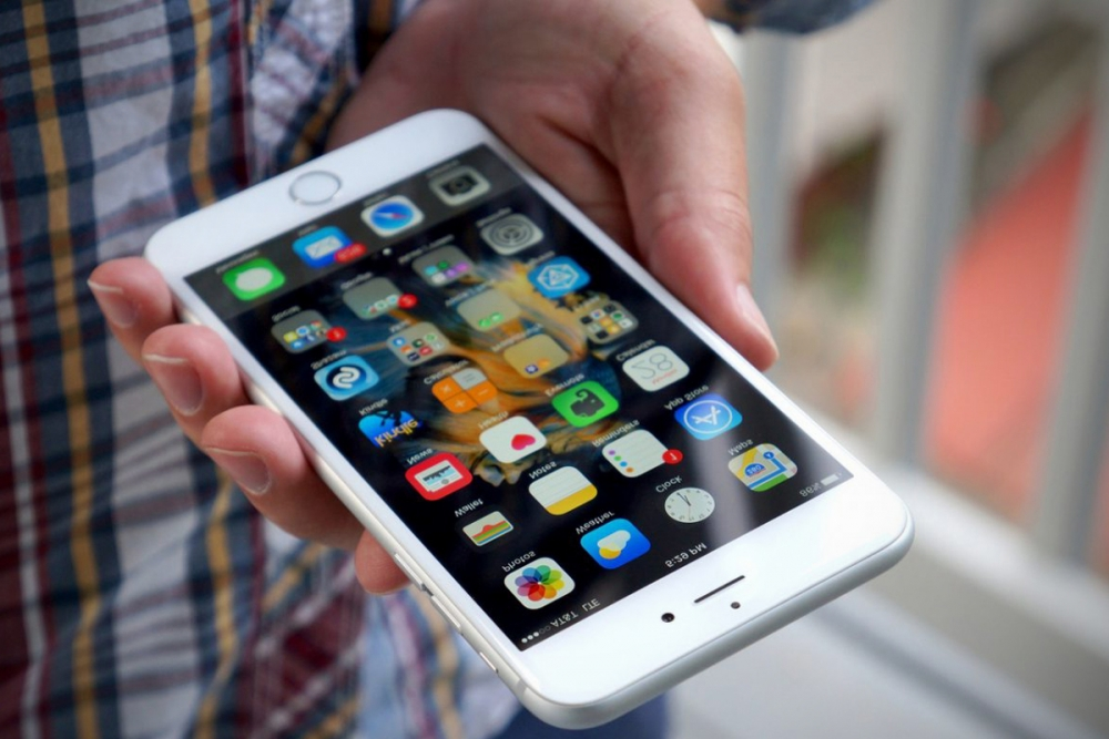 Новый смартфон.