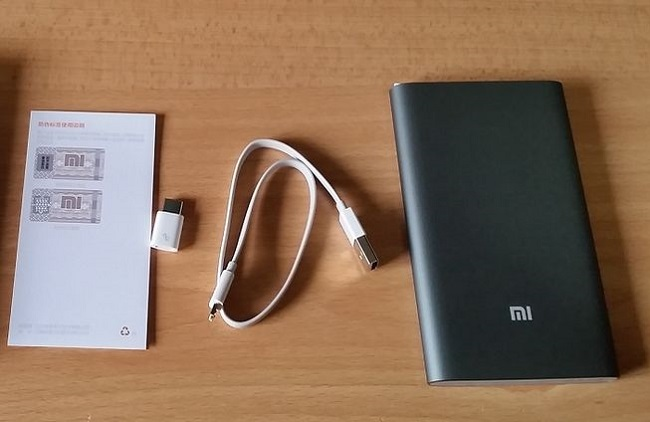 Xiaomi Mi Power Bank Pro 10000.