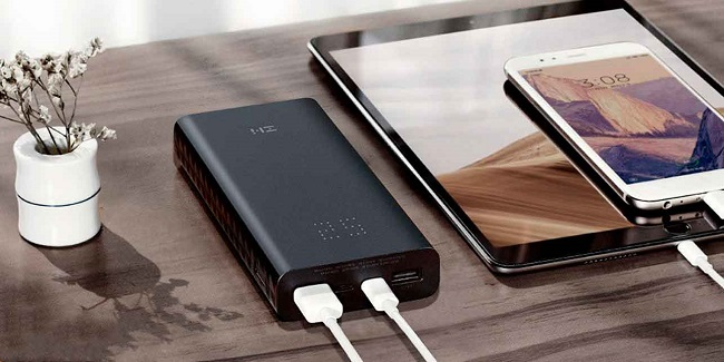 Xiaomi Zmi Power Bank Aura 20000.