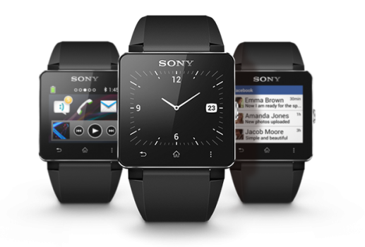 Часы Sony SmartWatch 2.