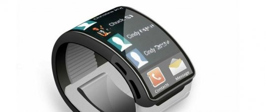 Часы Samsung Galaxy Gear.