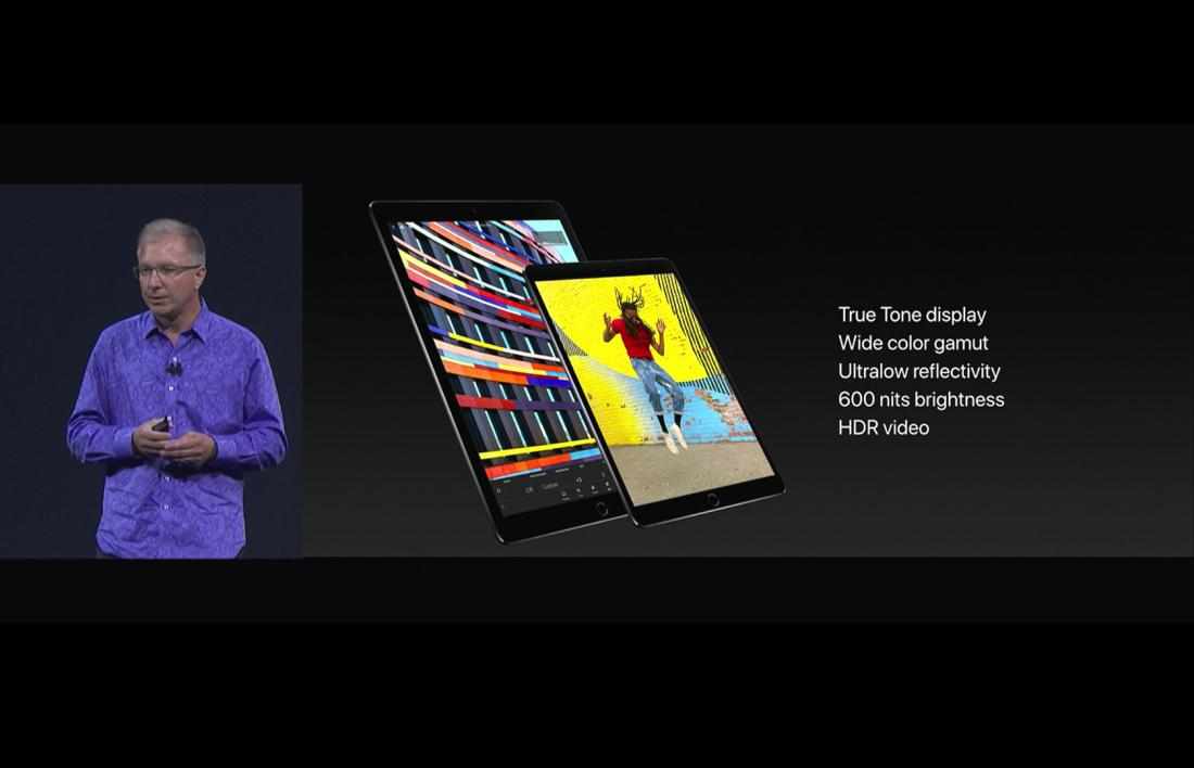 Новый 10,5-дюймовый iPad Pro