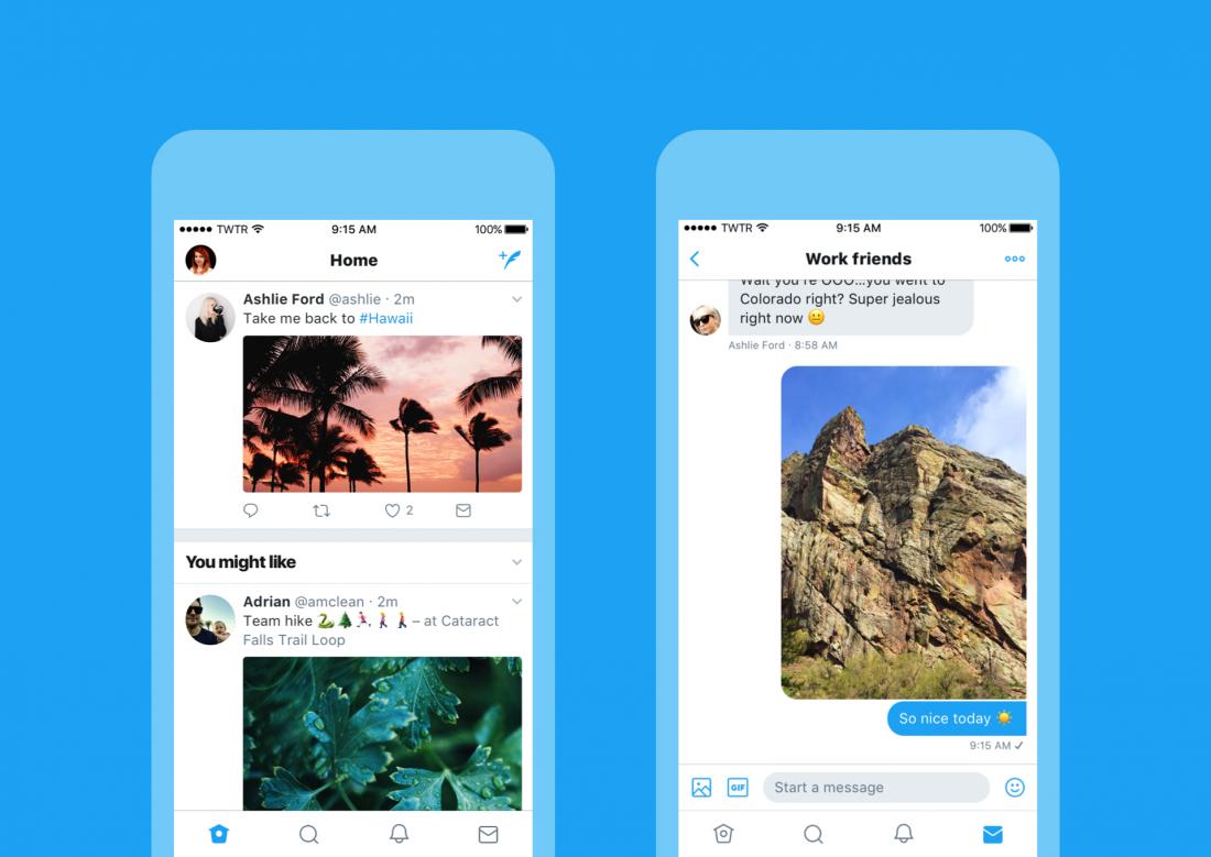 Twitter запустил обновлённый дизайн