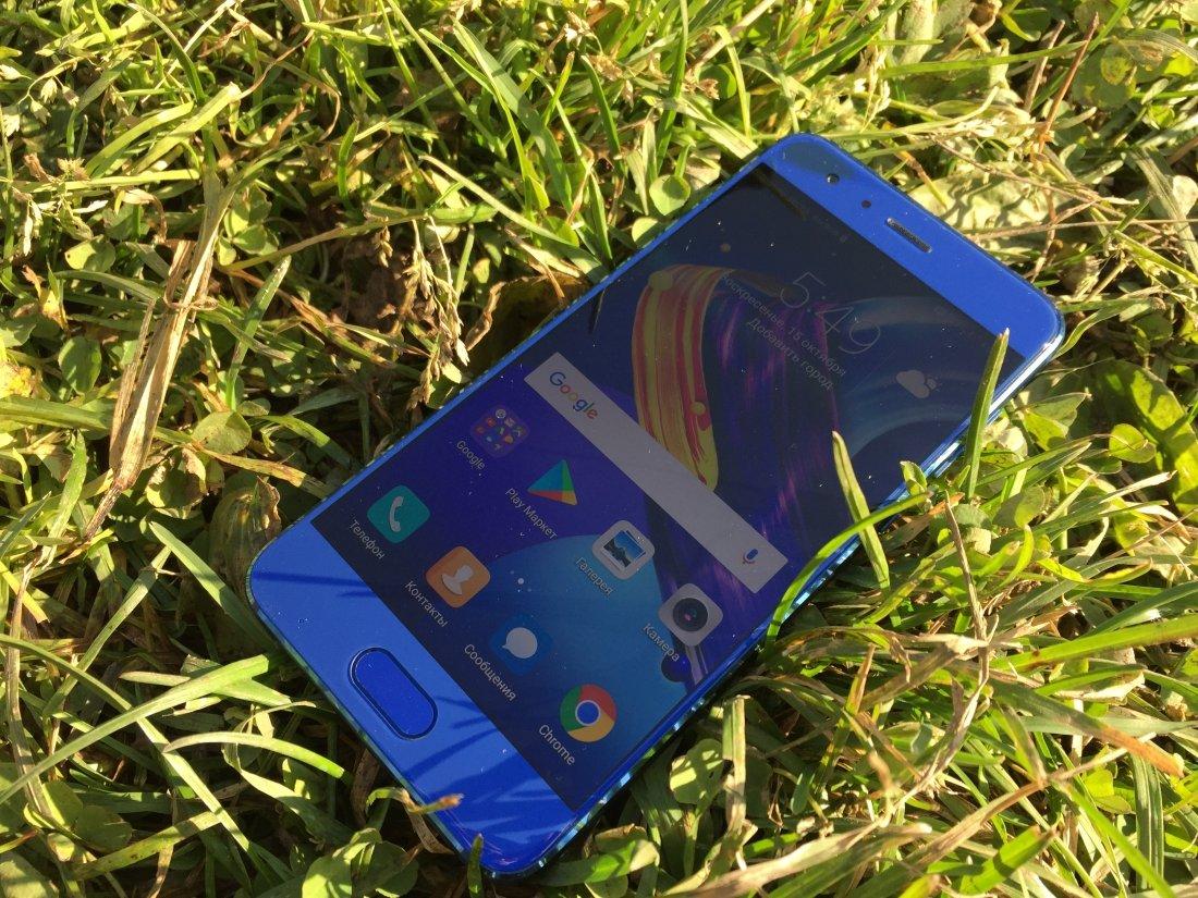 тест обзор смартфона Huawei Honor 9