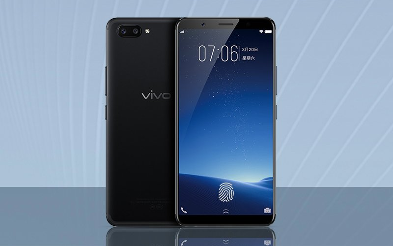Vivo X20 Plus in-screen fingerprint edition.