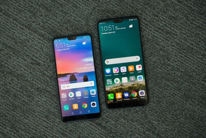Компания Huawei представила флагманские мобильные телефоны P20 иP20 Pro
