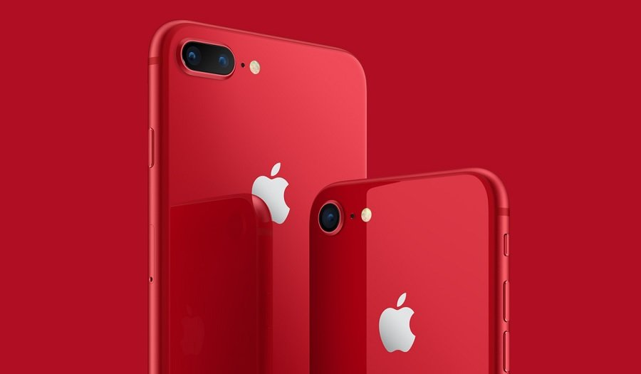 iPhone 8 RED.