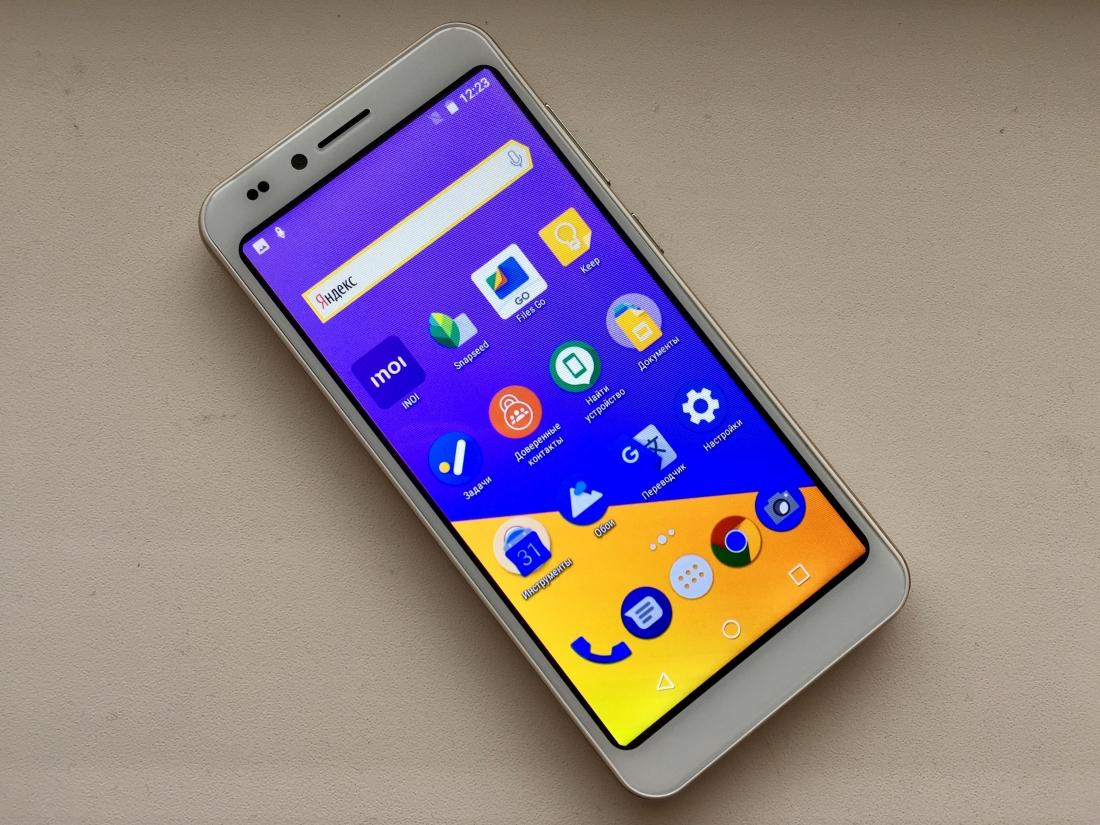 3ea40a5f40bc7 Тест-обзор смартфона INOI 3 Lite: проще просто некуда