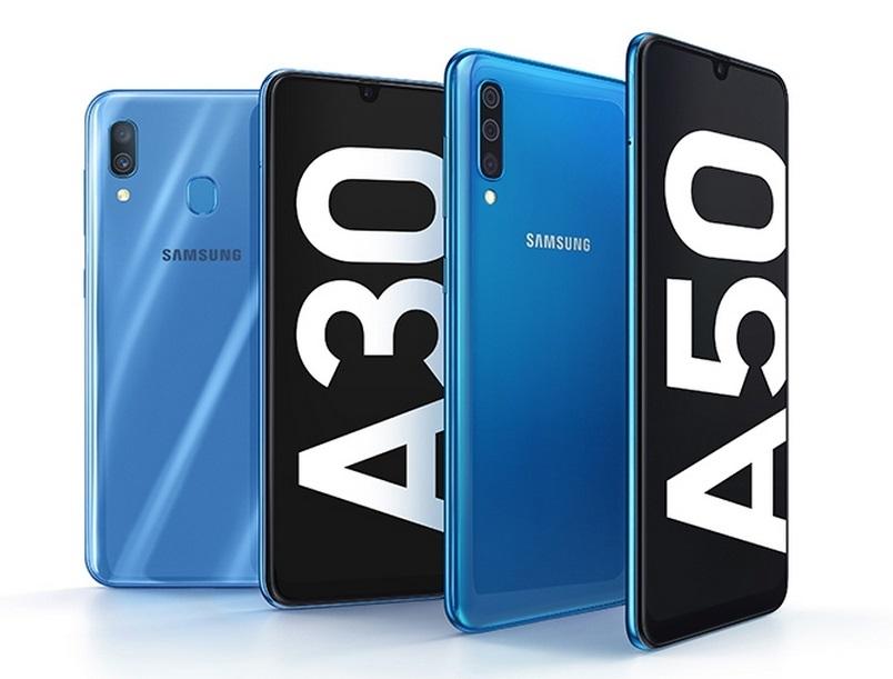 d520c5d5df306 Официальный анонс: Samsung представила смартфоны среднего класса Galaxy A50  и A30