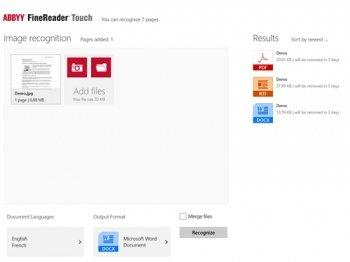 ABBYY выпустила FineReader для Windows 8